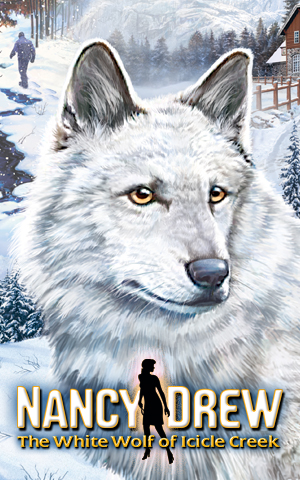 Nancy_Drew_-_The_White_Wolf_of_Icicle_Creek_Cover_Art